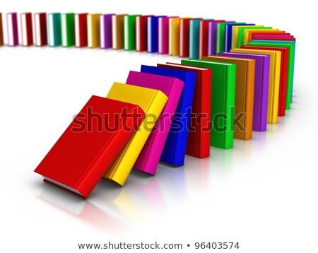 Books Domino Stock photo © make