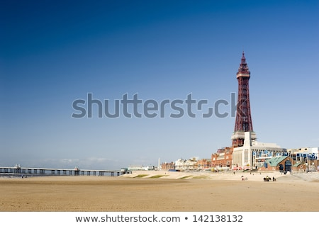 View of Blackpool beachfront Stock photo © photohome