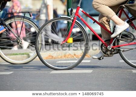 város · forgalom · mozgás · elmosódott · kép · autó - stock fotó © dariazu