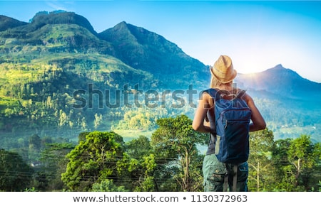 mountain panorama landscape in Sri Lanka Stock photo © Mikko