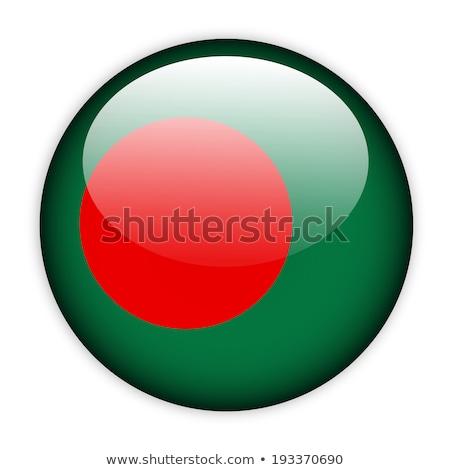 Bangladesh bandeira botão negócio abstrato mundo Foto stock © ojal