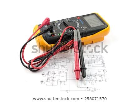 Electric multi meter Stock photo © janaka
