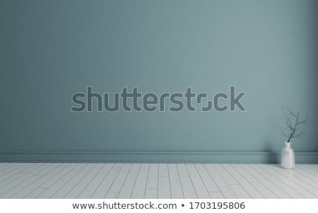 Fehér tábla fehér fából készült fal textúra stock Stock fotó © punsayaporn