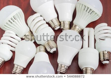Efficiente lampada compatto luce vetro Foto d'archivio © ca2hill