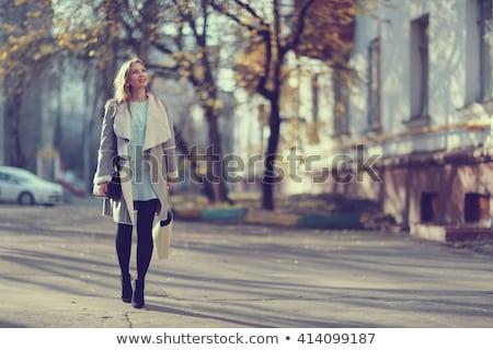 modern · bot · güzel · kız · beyaz · butik - stok fotoğraf © ssuaphoto