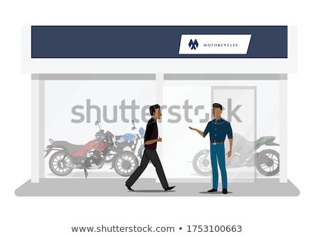 Motocicleta projeto 10 negócio viajar clube Foto stock © sdCrea