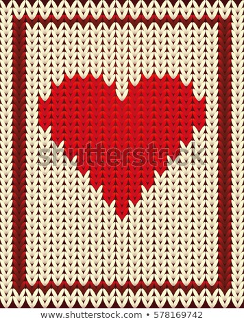 Kalpler poker kart kalp arka plan Stok fotoğraf © carodi