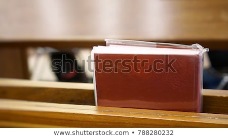 Closeup shot of Christian Hymnal book Stock photo © Nobilior