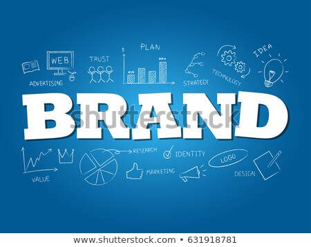 Brand word concept. Stock photo © 72soul