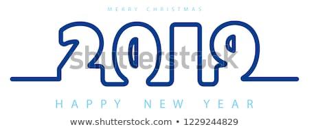вектора веселый Рождества иллюстрация 3D типографики Сток-фото © articular