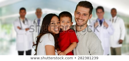 A Set of Children and Medical Care Stock photo © bluering