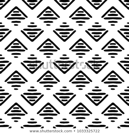 Vector abstract geometric ethnic ornament Stock photo © sanyal