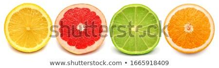 グレープフルーツ セグメント ミント 勾配 テクスチャ ストックフォト © cammep
