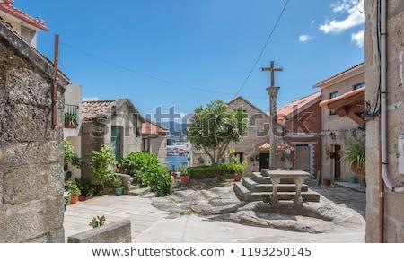 Dorp galicië Spanje huis natuur zomer Stockfoto © lunamarina