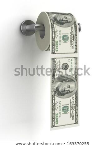 Money Savings Tissue Holder Illustration Stock photo © lenm