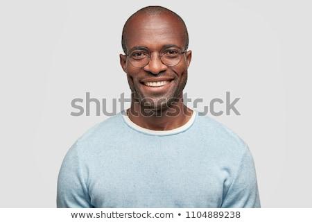 Portret zachwycony facet sweter Zdjęcia stock © deandrobot