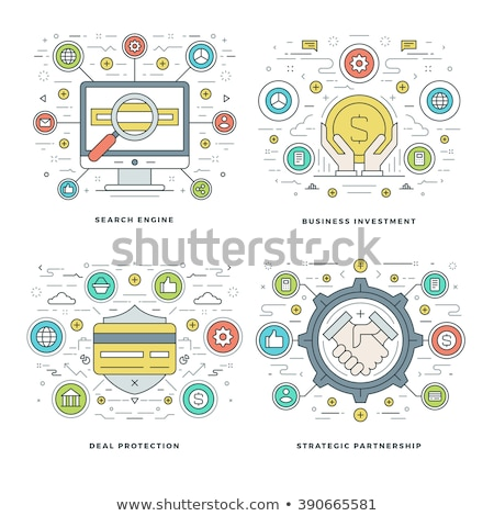 Search engines optimization concept banner header. Stock photo © RAStudio