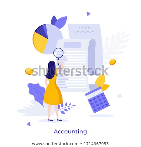 Audit service concept vector illustration. Stock photo © RAStudio