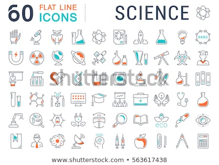 химии · урок · классе · опыт · детей - Сток-фото © netkov1