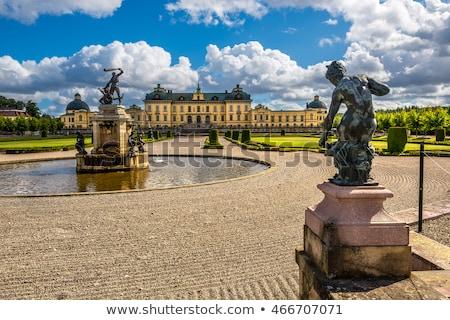 Pałac Sztokholm królewski rodziny Szwecja Zdjęcia stock © borisb17