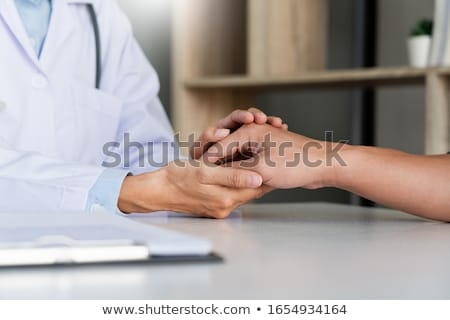 Healthcare and Medical concept, patient listening intently to a  stock photo © Freedomz