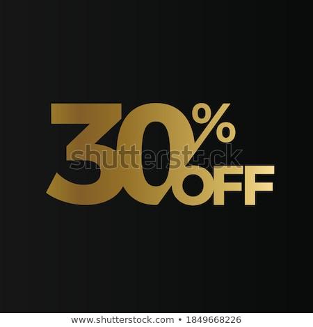 лучший скидка тридцать процент набор вектора Сток-фото © robuart