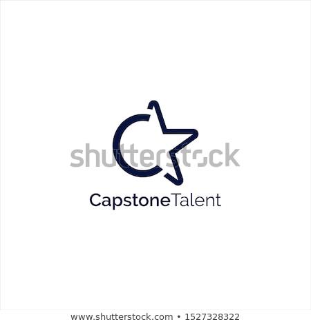 Stockfoto: Star Sign Human Talent Icon Vector Illustration