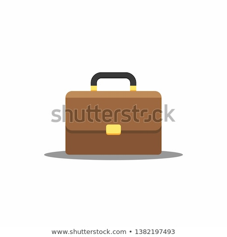 Baggage flat color illustration Stock photo © barsrsind