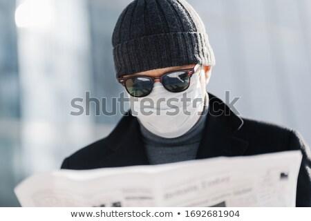 Foto atento homem óculos de sol seis médico Foto stock © vkstudio