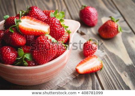 Organikus eprek rusztikus vászon gyümölcs gazdálkodás Stock fotó © Anneleven