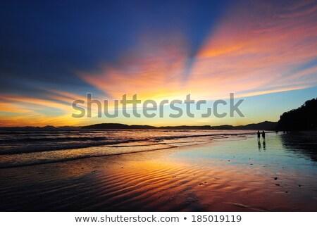 Krabi · tengerpart · Thaiföld - stock fotó © timbrk