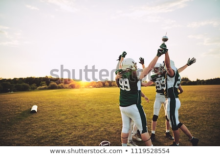 American football teams Stock photo © sahua