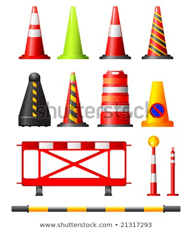 Traffic Cones, Drums & Posts Stock photo © sahua