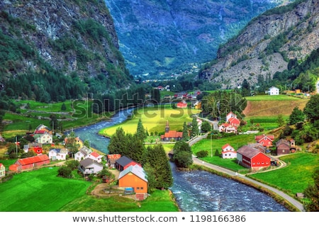 Sognefjord Norway Stock photo © SimpleFoto