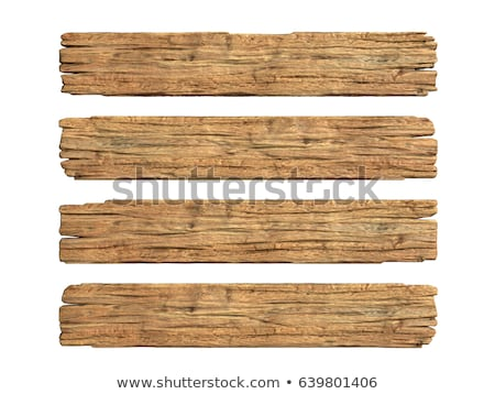 Stock photo: Wooden plank