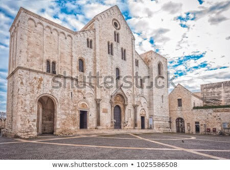Basilica of Saint Nicholas in Bari Stock photo © aladin66