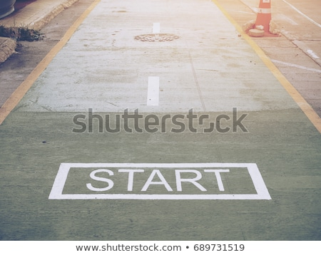Getting started concept Stock photo © bbbar