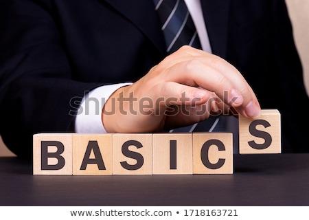 Basic Learning Stock photo © AlphaBaby
