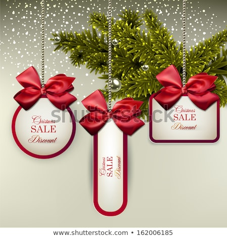 christmas ball for firtree decoration Stock photo © LoopAll