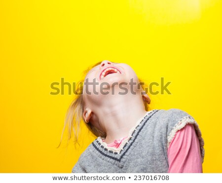 Little girl laughing out loud Stock photo © photography33