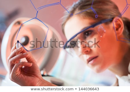 Portrait of a chemistry student stock photo © photography33