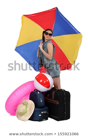 Woman leaving for a warmer climate Stock photo © photography33