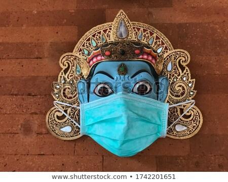 balinese mask Stock photo © compuinfoto