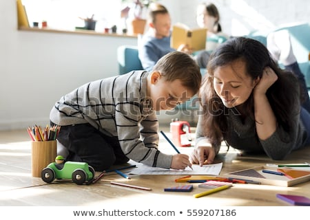 Mother and child spending quality time together Stock photo © photography33
