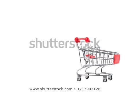 мини дизайна рынке супермаркета магазине финансовых Сток-фото © haiderazim