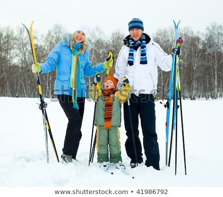 Couple going skiing Stock photo © photography33