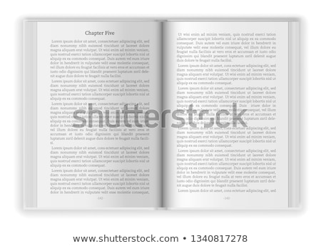 Book pages Stock photo © kjpargeter
