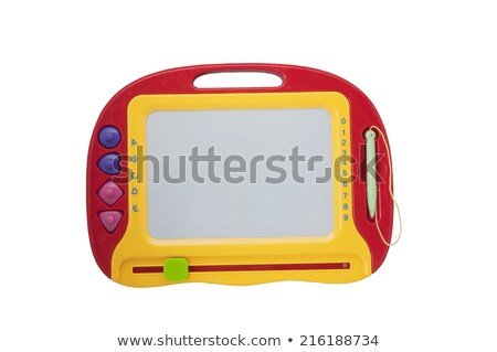 childrens magnet board for drawing stock photo © tshooter