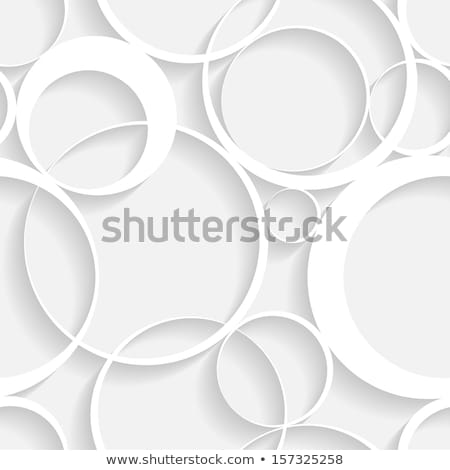 Seamless vector texture - gray rings Stock photo © pzaxe