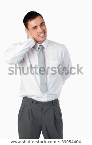 Portret biznesmen biały pracy medycznych Zdjęcia stock © wavebreak_media